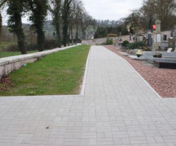Pavés-cimetière