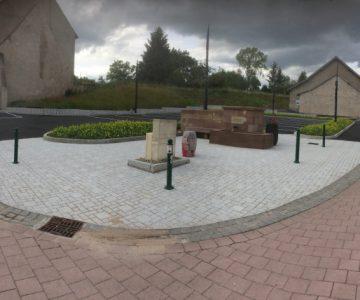 création d'un parking à Romelfing